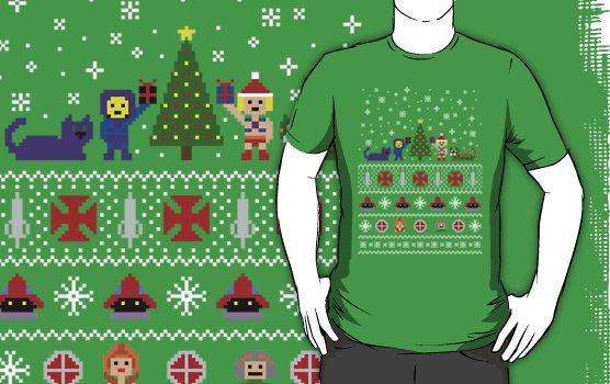 Camiseta heman navidad