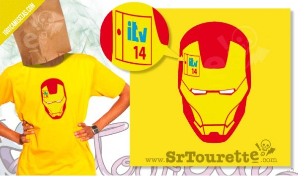 Camiseta Iron man ITV