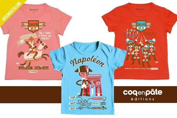 Camisetas infantiles divertidas