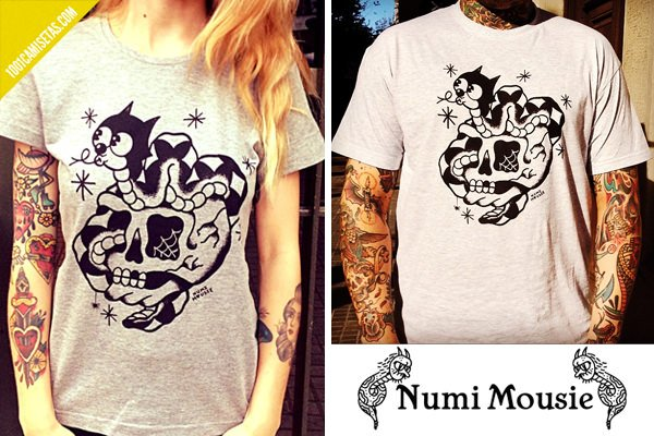 Camisetas tattoo old school