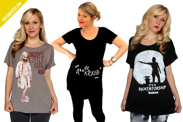 Camisetas walking dead