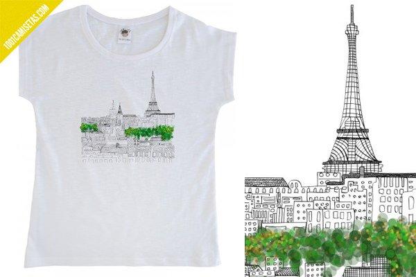 Camiseta París