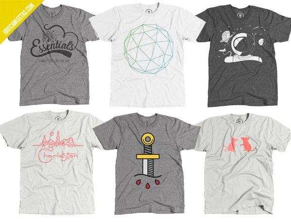 Camisetas Cotton bureau