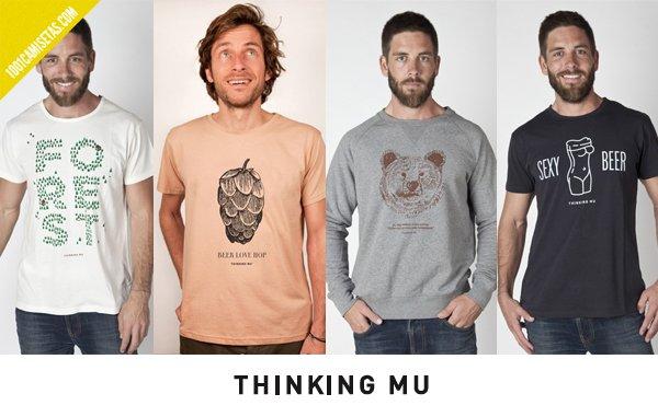 Camisetas organicas thinking mu
