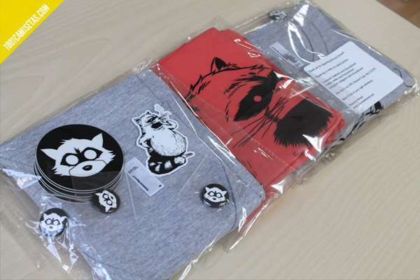 Raccoon brand clothing