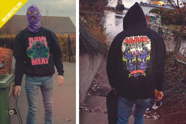 Sudaderas raw meat