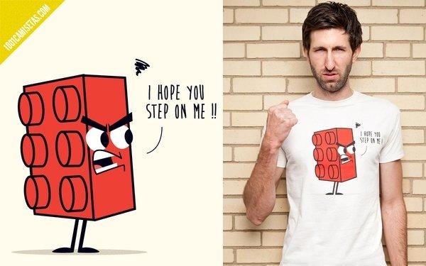 Camiseta divertida lego