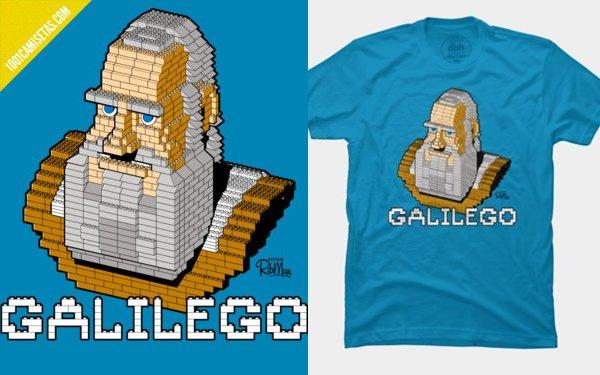 Camiseta Galilego
