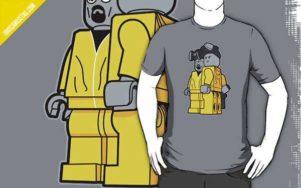 Camiseta Lego Breaking Bad