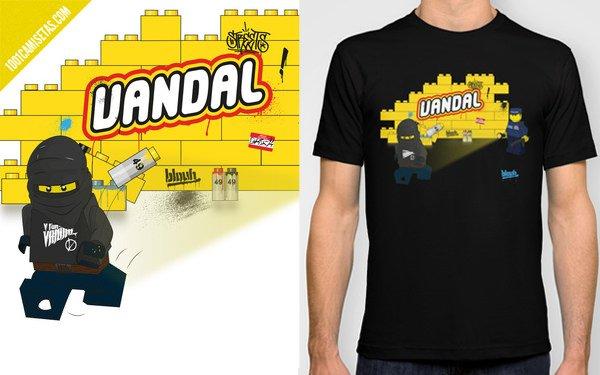 Lego vandal tshirt