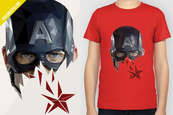 Camiseta superheroe