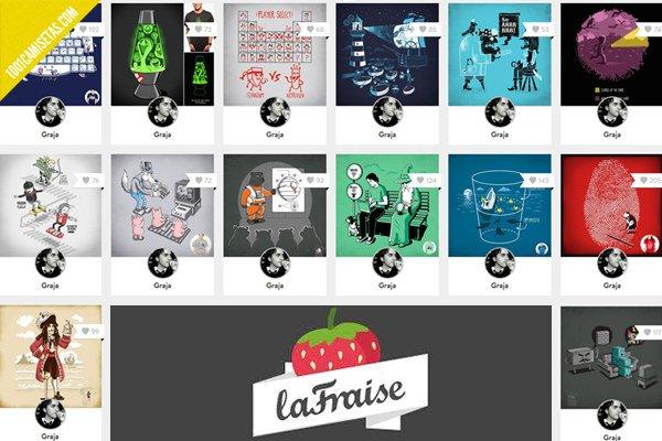 Camisetas La Fraise Graja