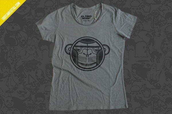 Camisetas mono serigrafia