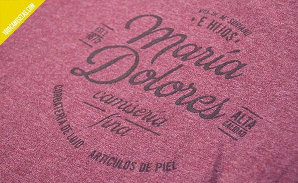 Camisetas spanish vintage