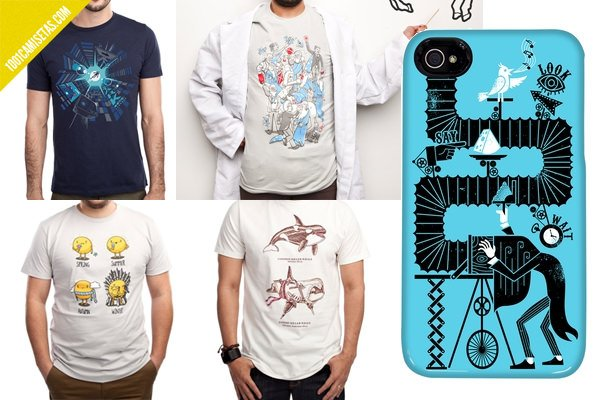 Camisetas Threadless Graja