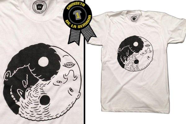 Camiseta de la semana Yin Yang
