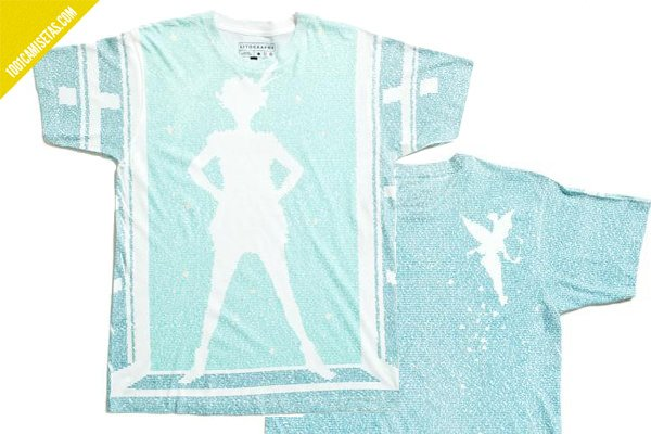 Camiseta Peter Pan litographs