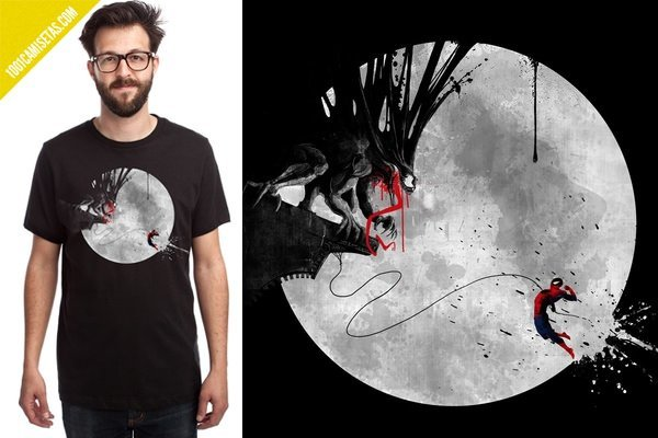 Camiseta spiderman inertia