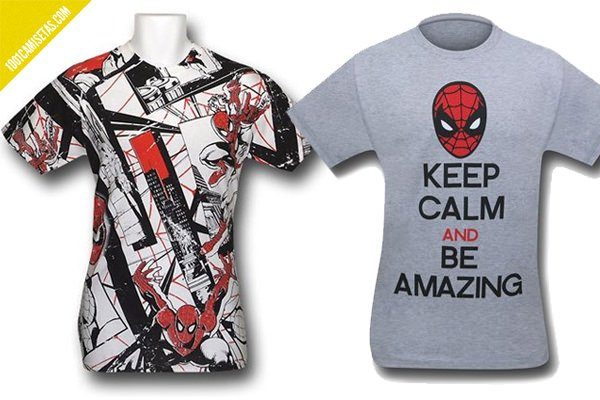 Camisetas spiderman superherostuff