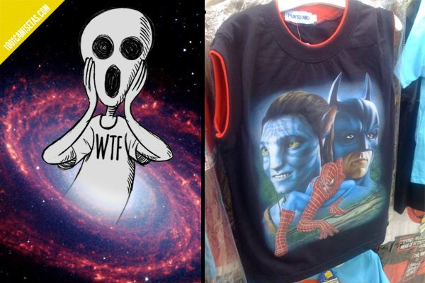 Spiderman awful tshirt