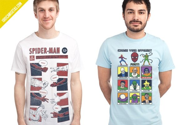 Spiderman tshirts threadless