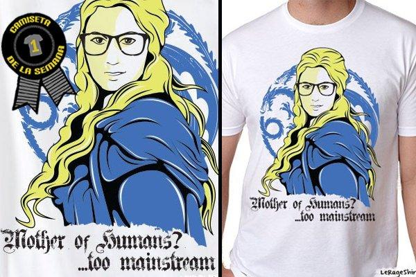 Camiseta de la semana hipster khaleesi