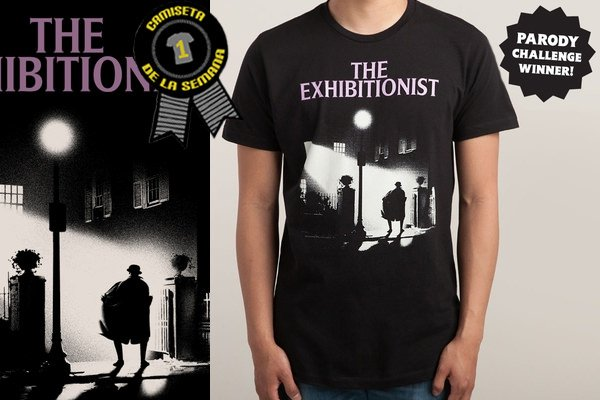 Camiseta de la semana the exhibicionist