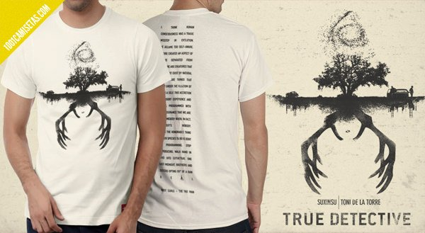 Camiseta True detective Toni de la torre
