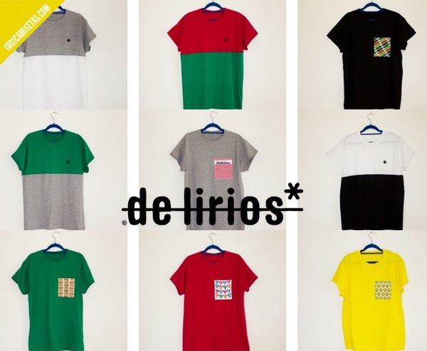 Camisetas de lirios