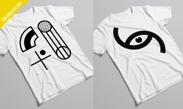 Camisetas diseño sans form