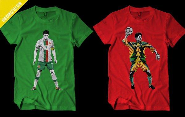 Camisetas futbol mundial