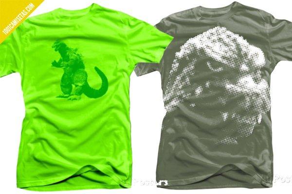 Camisetas godzilla Allposters
