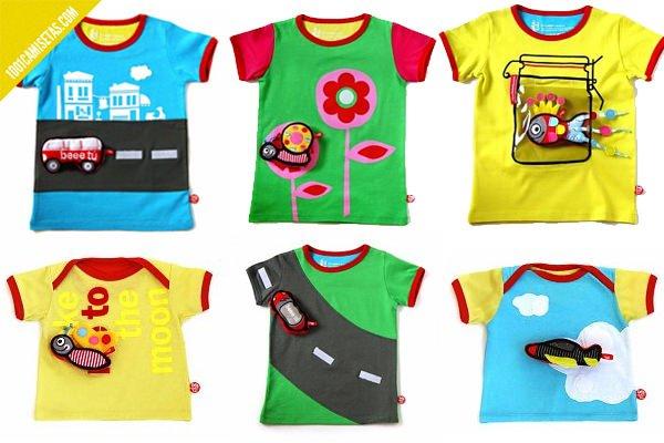 Camisetas infantiles beee tu