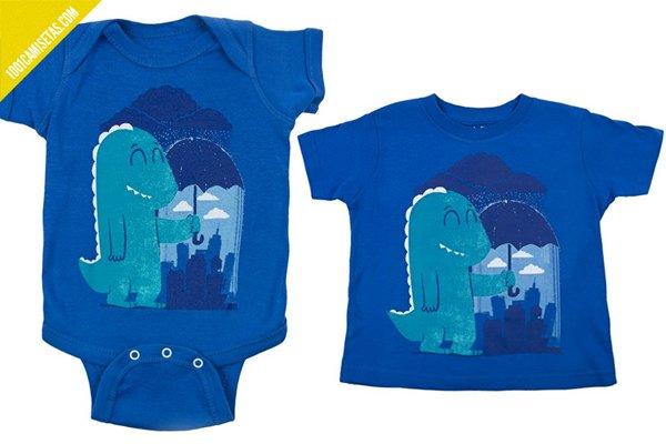 Camisetas infantiles godzilla