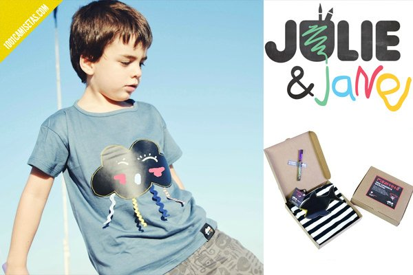 Camisetas infantiles Julie and jane