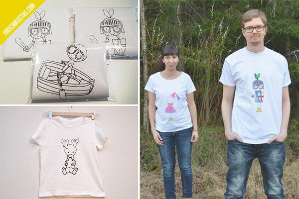 Camisetas infantiles little alma