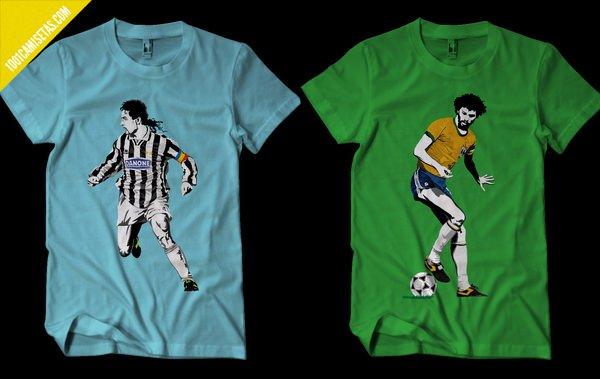 Camisetas jugadores mundial