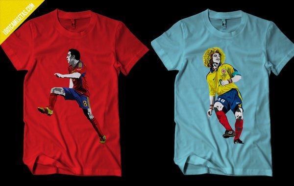 Camisetas mundial futbol