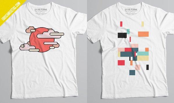 Camisetas sans form