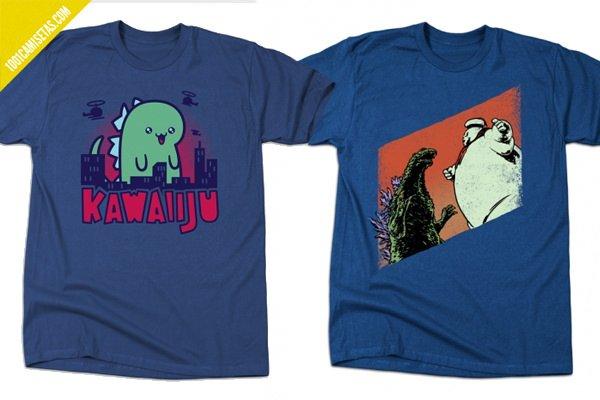Godzilla funny-tshirts