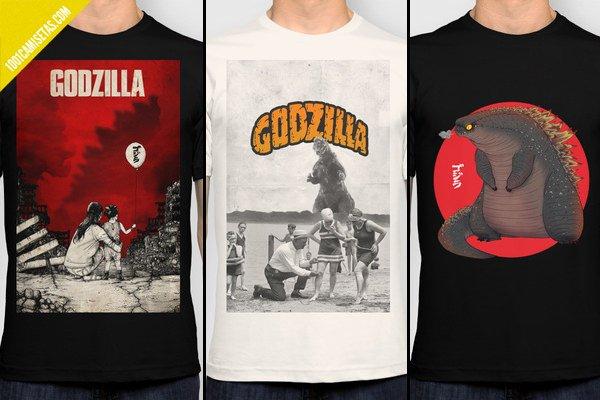 Godzilla tees