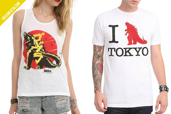 Hot topic Godzilla tshirts