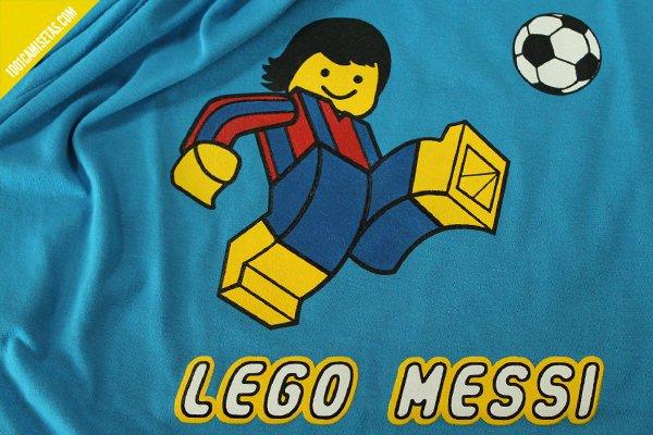 Camiseta divertida Messi