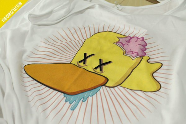 Camiseta impresión digital