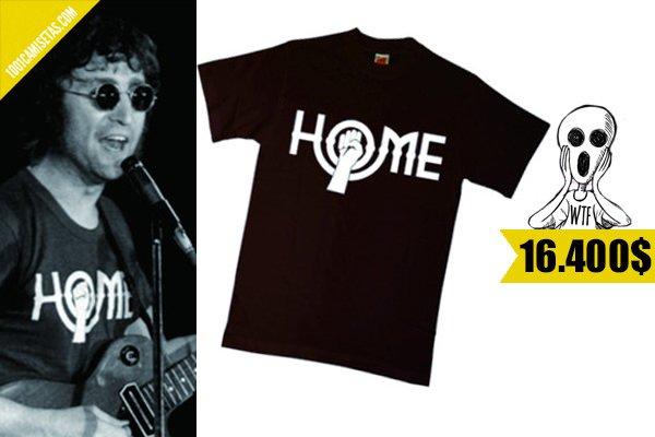 Camiseta john lennon home