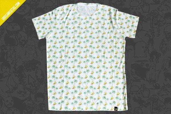 Camiseta sublimación pato mareado