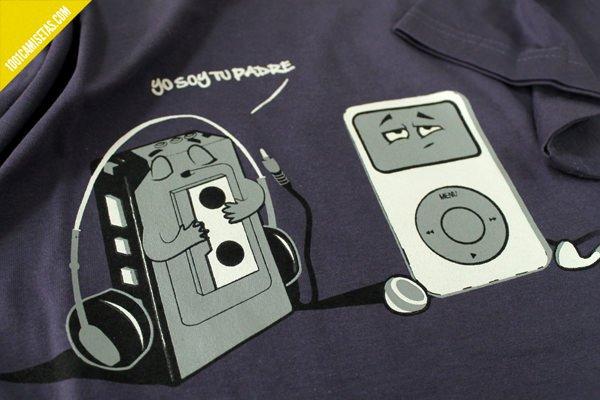 Camisetas divertidas Ipod