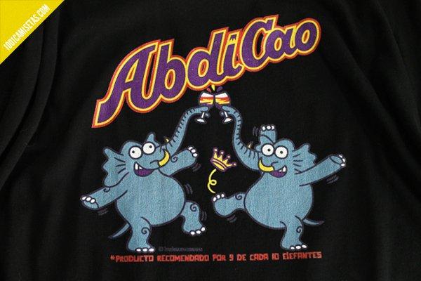 Camisetas divertidas rey