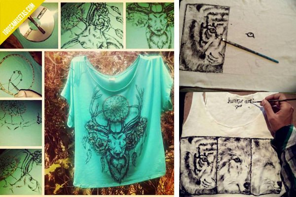 Diy - Pintura para camisetas ...