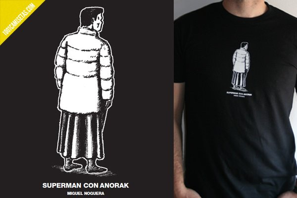 Camiseta superman con anorak
